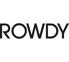 Rowdy Photographic Print