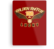 Golden Snitch - Lucky 150 pts. Metal Print