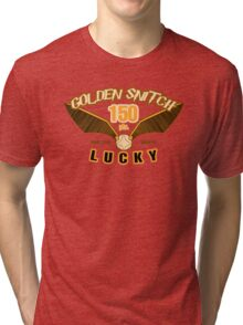 Golden Snitch - Lucky 150 pts. Tri-blend T-Shirt