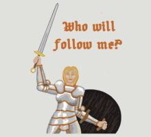 Who will follow me? by mordechai