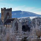 St. Flannan's Cathedral in winter, Killaloe, Ireland by Orla Flanagan