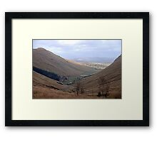 Rugged Glengesh Pass, Co Donegal, Ireland Framed Print