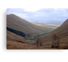 Rugged Glengesh Pass, Co Donegal, Ireland Canvas Print