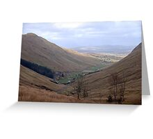 Rugged Glengesh Pass, Co Donegal, Ireland Greeting Card