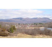 The town of Brandon, Vermont. Photographic Print