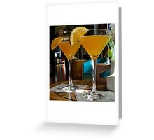Happy Hour Cheers Greeting Card