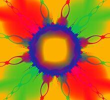 Colorful Chains by Beatriz  Cruz