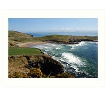 Surf's up - Tralor Beach, Co Donegal Art Print