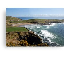 Surf's up - Tralor Beach, Co Donegal Metal Print