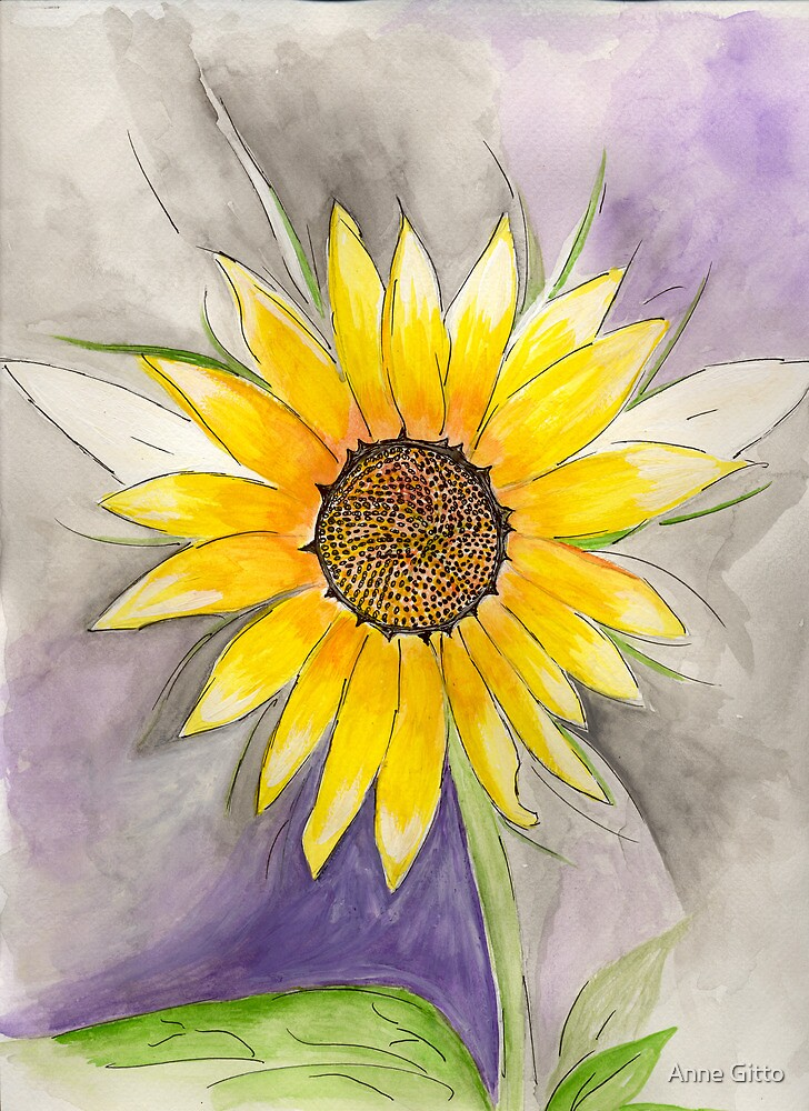 Jennifer's Flower by Anne Gitto