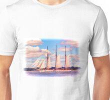 Schooner Mystic Under Sail Unisex T-Shirt