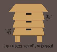 I Get A Buzz Out Of Bee Keeping Apiary Bees Design Kids Clothes