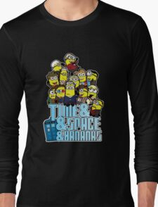 Time and Space and Bananas Long Sleeve T-Shirt