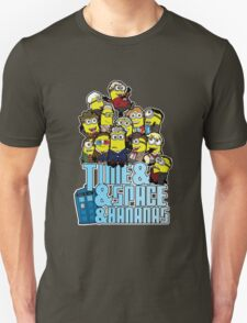 Time and Space and Bananas Unisex T-Shirt