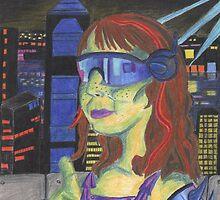 Blade Runner/ Sci-Fi Homage Self-Portrait by Kyleacharisse