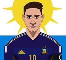 Messi by Daniel Astudillo