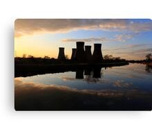 Towering Sunset Canvas Print
