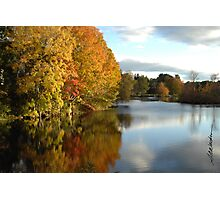 A Touch of Autumn Photographic Print