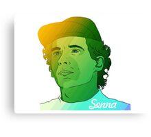 Ayrton Senna - Legend - F1 - Formula 1 - Rest in Peace - Senna Canvas Print
