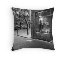 Bohemian Streets Throw Pillow