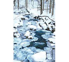 Winter Blue Photographic Print