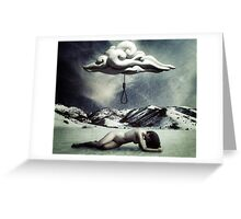 Open your eyes, there's so much life to be lived. Greeting Card