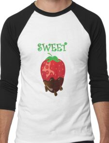 strawberry tshirt Men's Baseball ¾ T-Shirt
