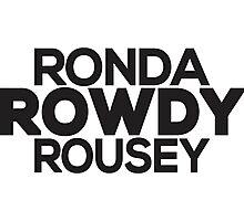 Ronda Rowdy Rousey Photographic Print