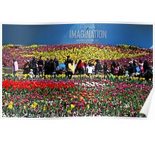 floriade - imagination - Canberra, Australia Poster