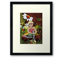 Daisy Fairy Framed Print