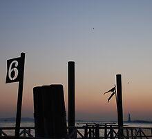 New York Sunset by Megan James