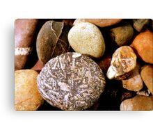 Pebbles in Peru  Canvas Print