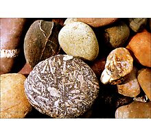 Pebbles in Peru  Photographic Print
