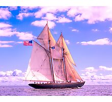 Schooner Virginia Under Sail Photographic Print