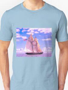 Schooner Virginia Under Sail T-Shirt
