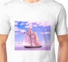 Schooner Virginia Under Sail Unisex T-Shirt