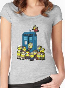 Minion Who Women's Fitted Scoop T-Shirt