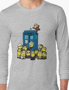 Minion Who Long Sleeve T-Shirt