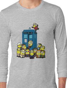 Minion Who Long Sleeve T-Shirt