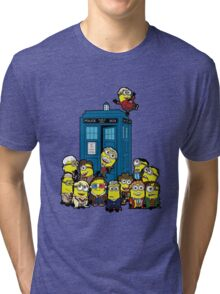 Minion Who Tri-blend T-Shirt