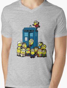 Minion Who Mens V-Neck T-Shirt