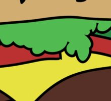 Cheese Burger Sticker