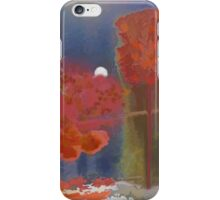 Autumn Moon iPhone Case/Skin