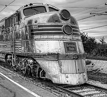 Burlington Nebraska Zephyr EMD E5  by StunningLight