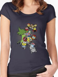 Minvengers Age of Mintron Women's Fitted Scoop T-Shirt