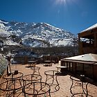 Views from Kasbah Toubkal by Kerry Dunstone