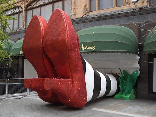 Clean pair of heels - Harrods, London by BlackhawkRogue
