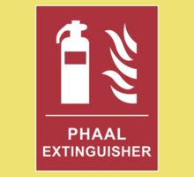 Funny Hot Spicy Curry Phaal Fire Extinguisher Joke One Piece - Short Sleeve