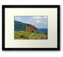Urquhart Castle , Scotland Framed Print