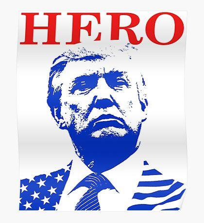 Donald Trump Hero Poster